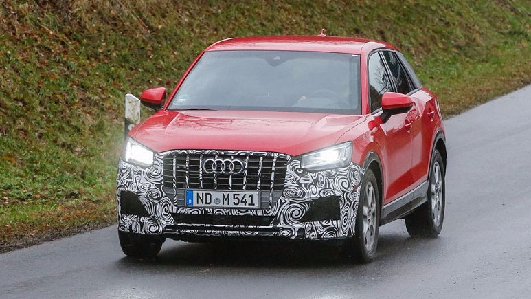 Audi'nin yeni SQ2 modeli oraya çıktı!