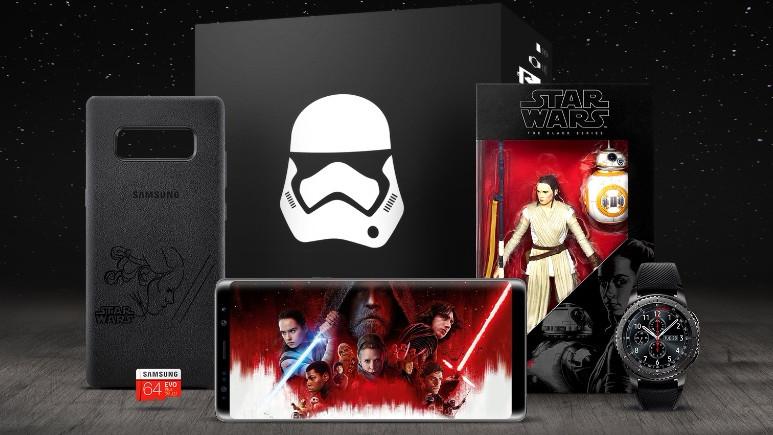 Samsung'dan Star Wars: Son Jedi için yeni koleksiyon