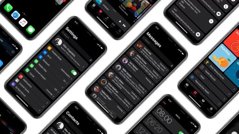 iOS 11 siyah tema ile nasıl görünüyor?