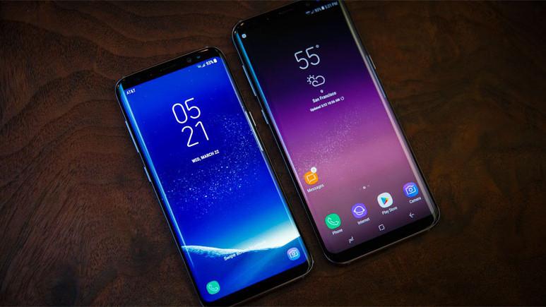 Galaxy S9 ve Galaxy S8 ekran karşılaştırması