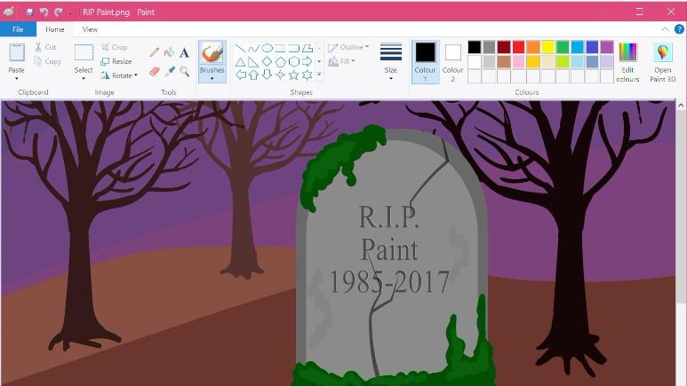 Microsoft'tan Paint için yeni uyarı!