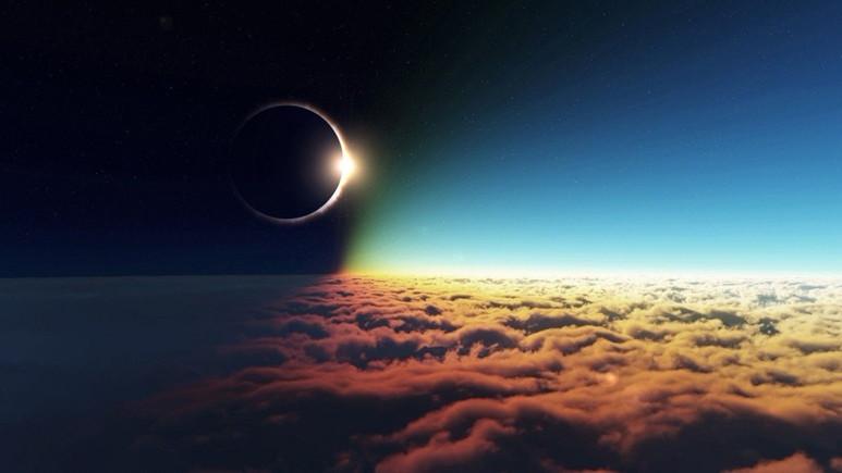 Güneş tutulması atmosferde iz bıraktı ve bu bir ilk!