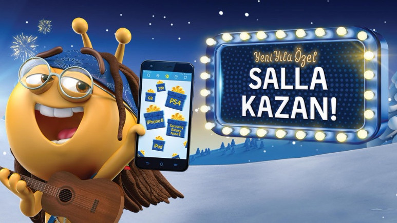 Turkcell'den tüm müşterilerine çifte yeni yıl hediyesi
