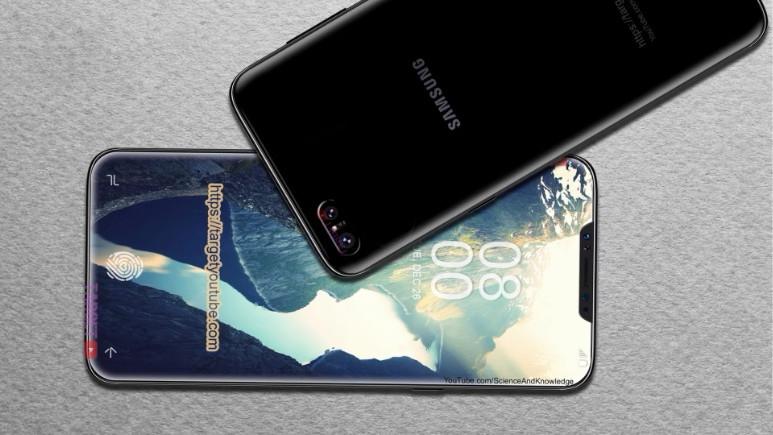 iPhone X'dan esinlenen Galaxy X8 konsepti (Video)