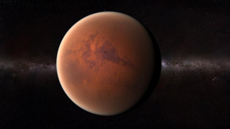 NASA'dan kış mevsiminde Mars fotoğrafları!