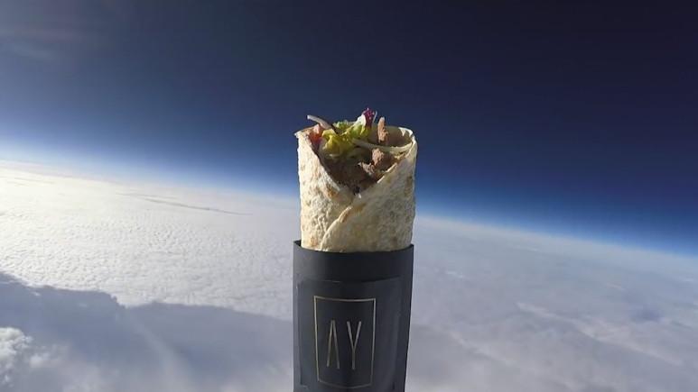 Türkler uzaya kebap gönderdi