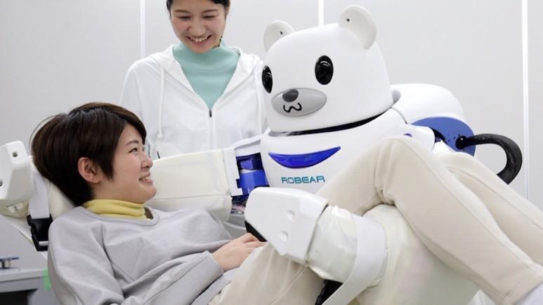 Japonya'da bir hastenede geceleri robotlar çalışacak!