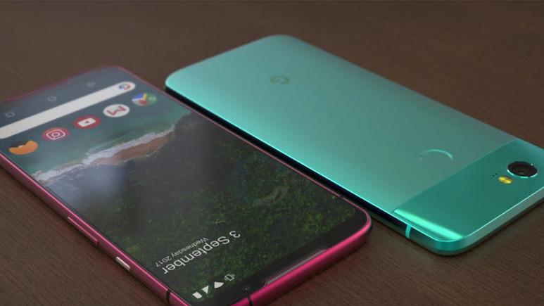 Çerçevesiz Google Pixel 3 konsepti (Video)