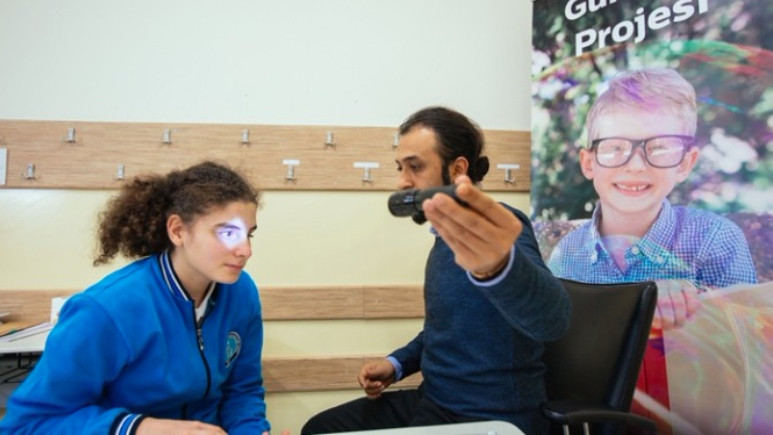 Türk Telekom'un Günışığı projesi az gören çocuklara umut oldu!