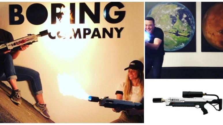Elon Musk'ın alev silahı satışa kısa süre sonra satışa çıkacak!