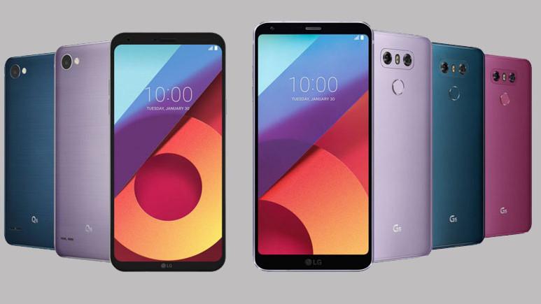 İşte LG G6'nın yeni renkleri!