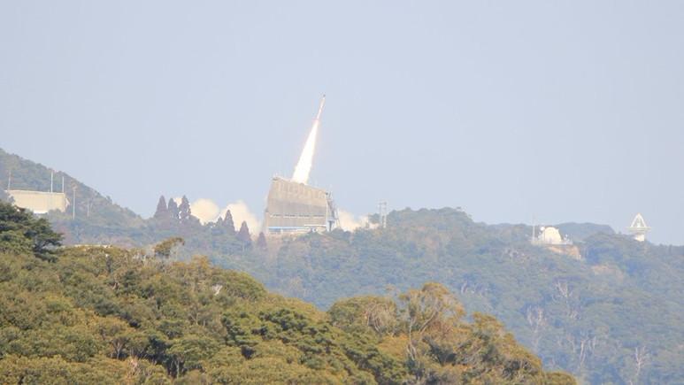 Japonya'da dünyanın en küçük roketi fırlatıldı!