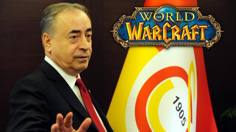 Galatasaray Başkanı bilgisayar oyunu oynuyor!
