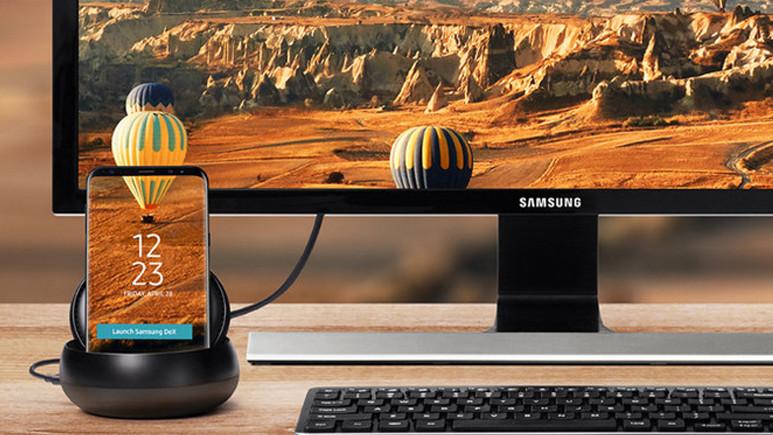 Galaxy S9'u PC'ye dönüştüren DeX Pad sızdırıldı
