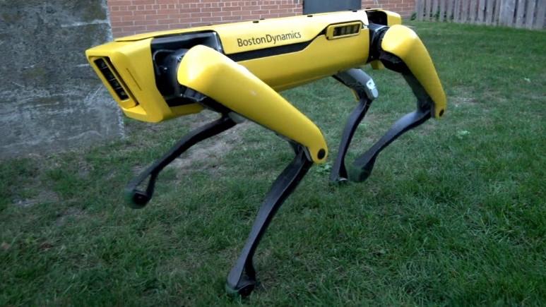 Boston Dynamics'in robotu kapıları açıyor!