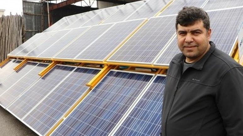 Kahramanmaraşlı girişimci mobil güneş enerjisi santrali geliştirdi!