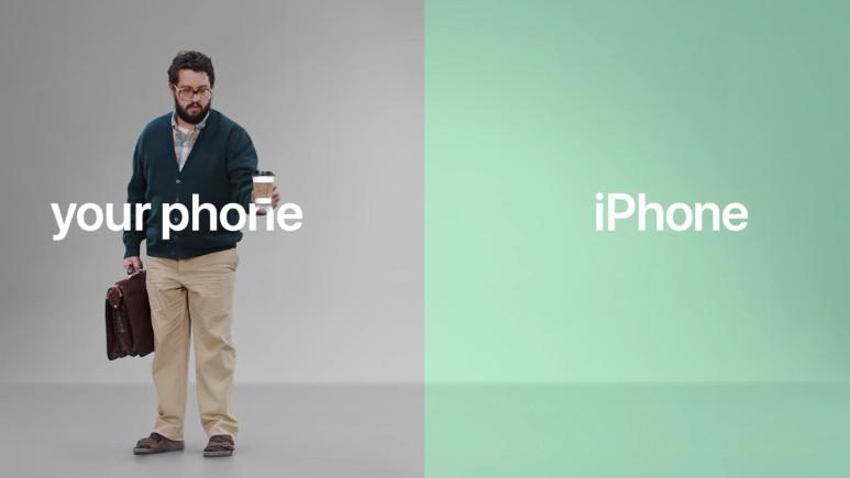 Apple'dan Android'e gönderme!
