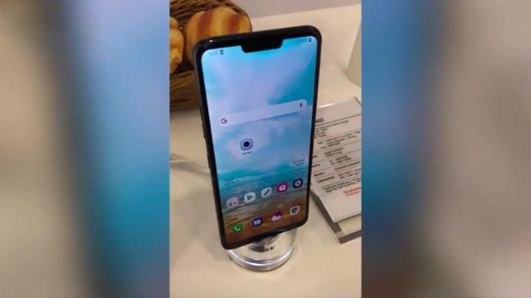 LG G7 videoda görüntülendi!