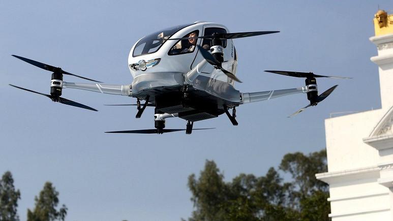 Porsche, sınırlarını aştı ve yolcu taşıyan Drone üretme kararı aldı!