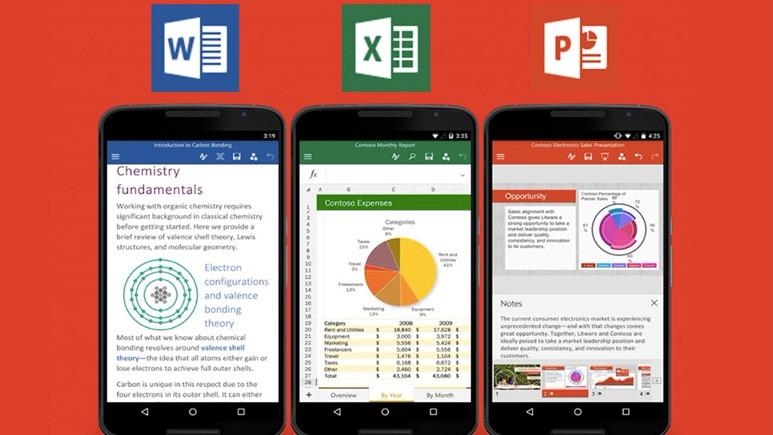 Android ve iOS için Office'e yeni özellikler ekleniyor!