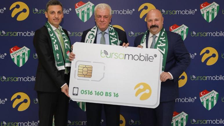 Turkcell ve Bursaspor 516'lı özel hatlar için anlaştı!