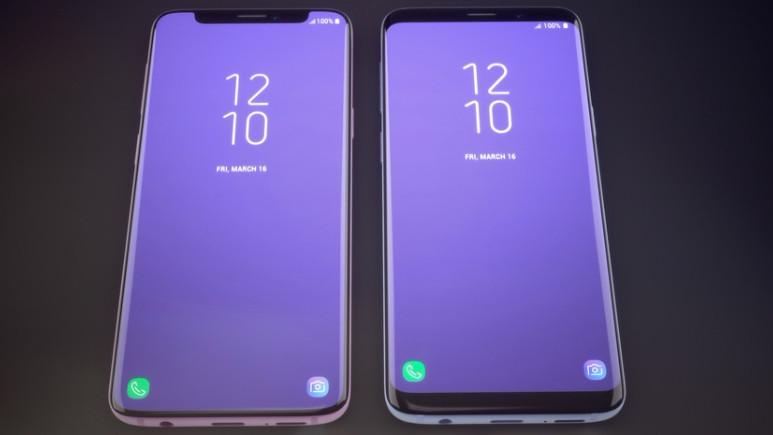 Galaxy S9 çentikli olsa nasıl görünürdü?