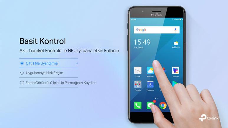 TP-Link Neffos akıllı telefonların arayüzü güncellendi