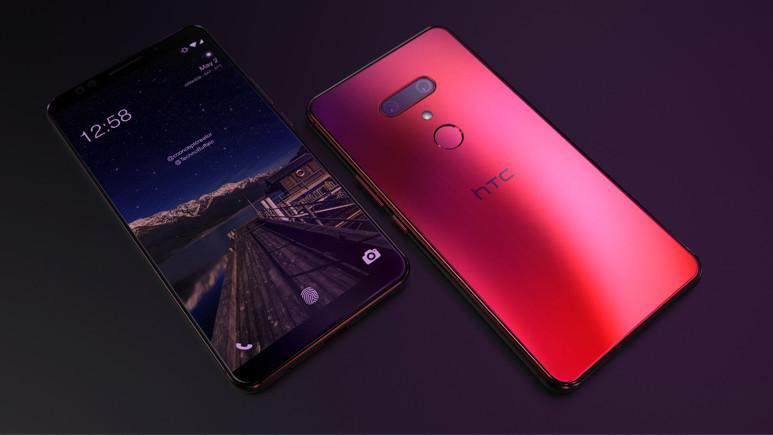 HTC U12+'ın etkileyici tasarımı