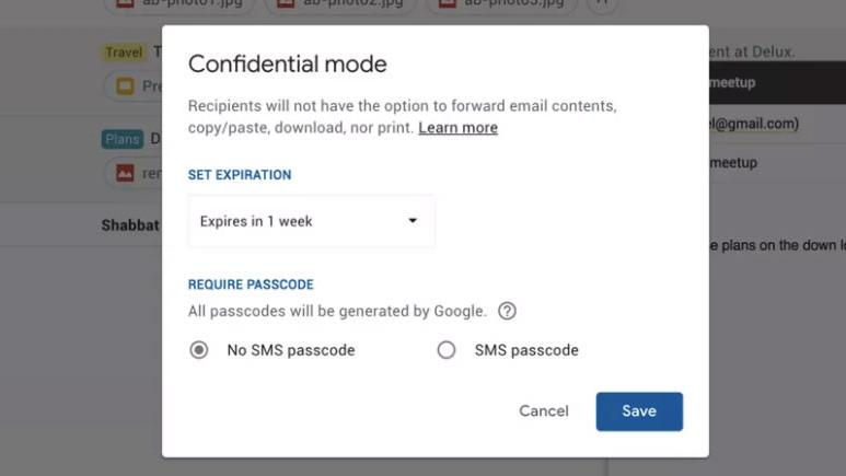 Gmail'e gizli mod özelliği geliyor