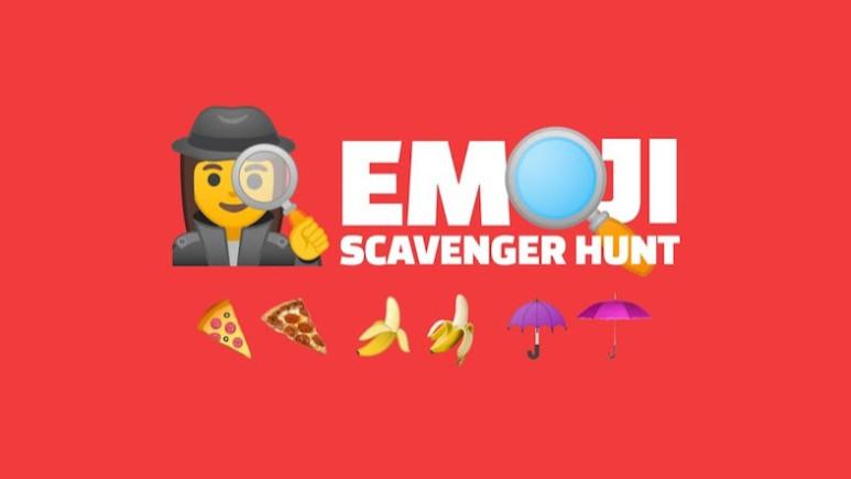 Google'dan yapay zeka tabanlı oyun: Emoji Scavenger Hunt