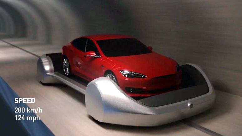 Otomobiller yeraltından gidecek!