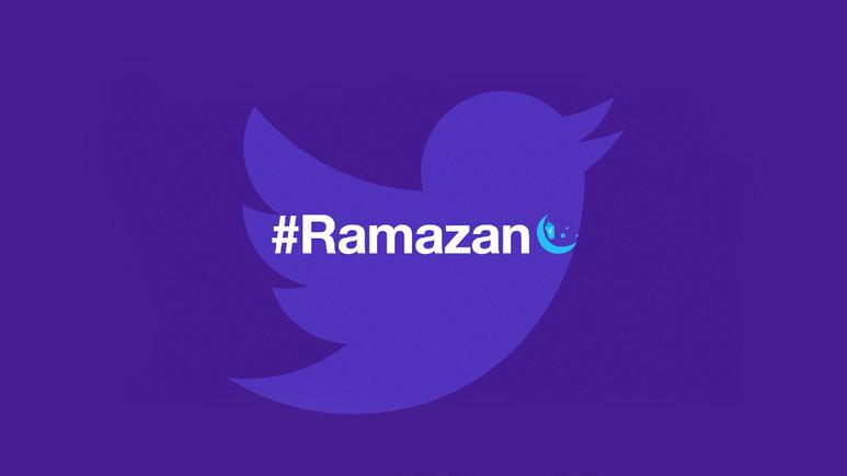 Twitter'dan Türkçe etiketli Ramazan emojisi