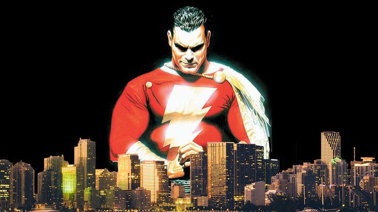DC'nin Shazam'i sonunda yüzünü gösterdi!