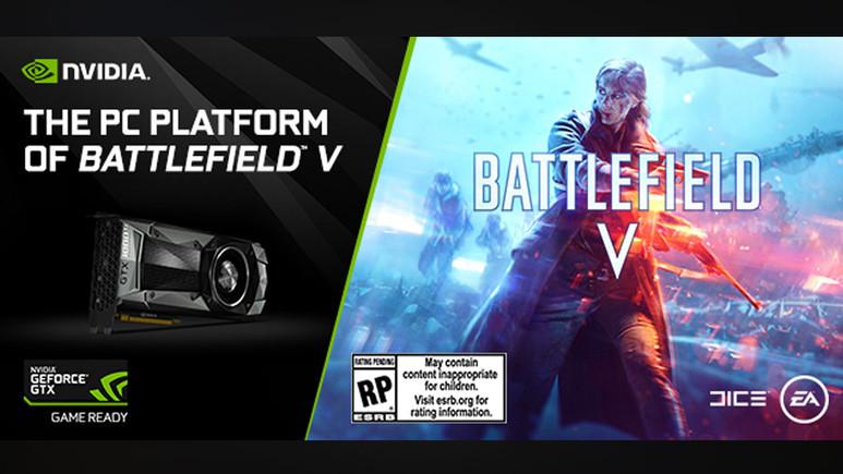 Battlefield V'in keyfi GeForce GTX ile yaşanacak