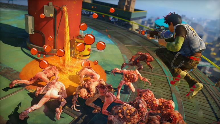 Xbox One'a özel olan Sunset Overdrive PC'ye gelebilir!