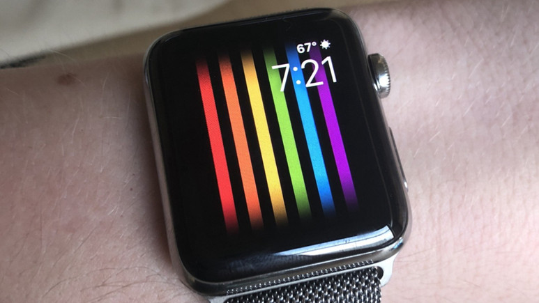 Apple Watch'a hareketli gökkuşağı özelliği geldi!