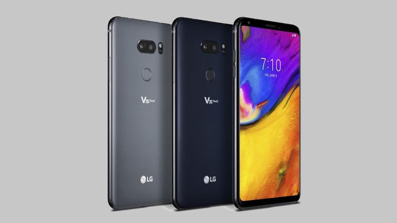 LG V35 ThinQ tanıtıldı