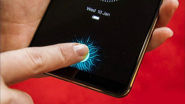 Galaxy S10 parmak izini ekrandan okuyacak