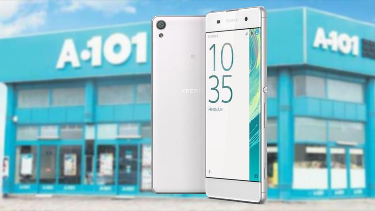 A101'e uygun fiyatlı Sony Xperia XA geliyor