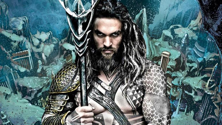 Aquaman filminden ilk görseller geldi!