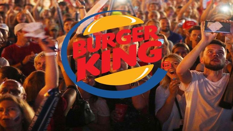 Burger King'den skandal reklam!