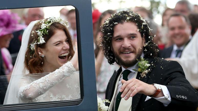 Game of Thrones'un sevilen çifti sonunda evlendi!