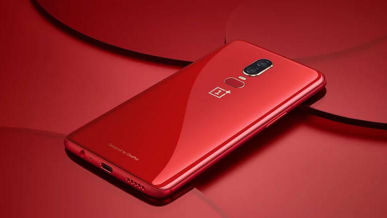 OnePlus 6'ya kırmızı renk seçeneği geldi