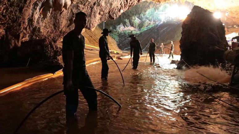 Tayland'da 4 çocuk kurtarıldı