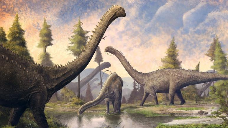 200 milyon yıllık dev dinozor fosili bulundu!