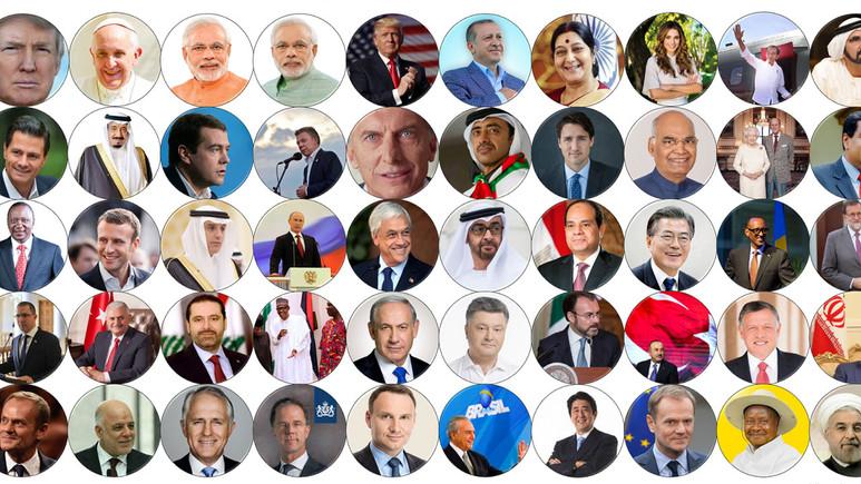 Dünya liderleri sosyal ağları aktif olarak kullanıyor