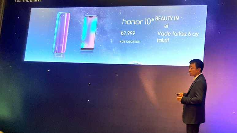 Honor 10 Türkiye fiyatı belli oldu