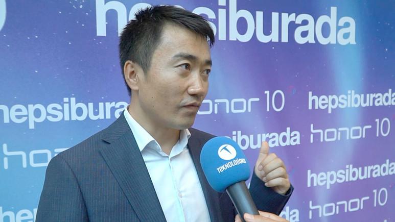 Honor 10'u Türkiye Başkanı'na sorduk (Video)