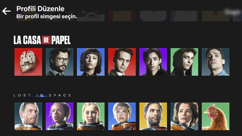 Netflix profil fotoğrafı özelliğini geliştirdi