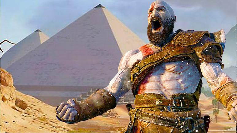 God of War Antik Mısır'da geçebilirdi!